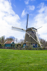 traditional dutch windmill, the Netherlands