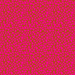Pink hearts seamless background