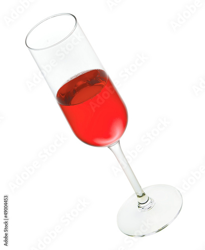 wineglass isolated on white