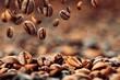 Leinwandbild Motiv Kaffeebohnen 4