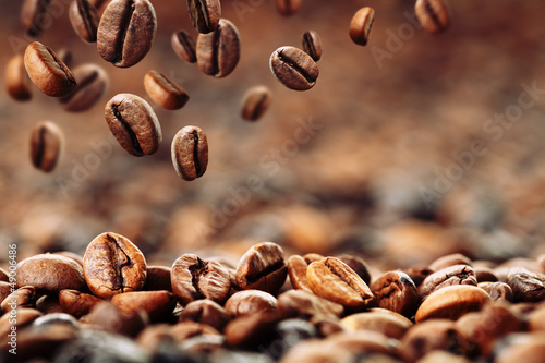 canvas print picture Kaffeebohnen 4