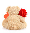 Teddy bear for Valentine day