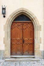 Medieval drzwi przednie