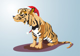 Year of the Tiger. 12 Zodiac Animals