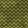 Seamles Grungy Pattern with Clovers