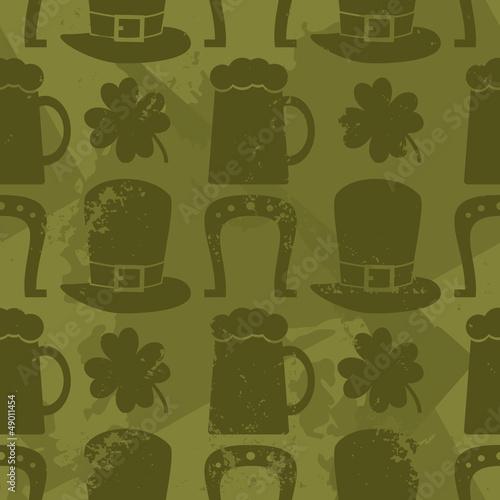 Seamles St. Patrick's Day Pattern