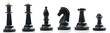 collection of chess pieces