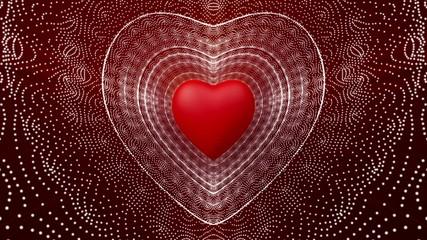 Heart beating