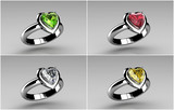 wedding rings - 49015478