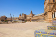 Plaza de Espana, in Seville, Spain