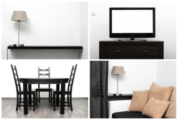 bright interior - minimalism style