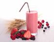 berries milkshake