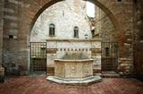 Perugia - Fontana in via Maestà delle Volte poster