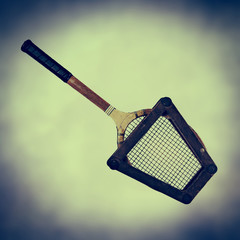 retro tennis frame