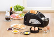 bread toaster with function for boiling and frying egg also