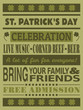 St. Patrick's Day Party Invitation