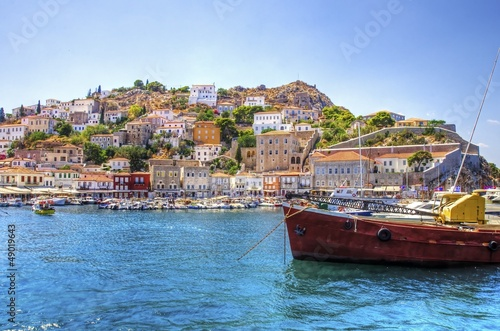 Beautiful Greek island, Hydra