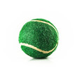 green tennis ball