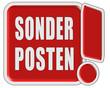 !-Schild rot quad SONDERPOSTEN