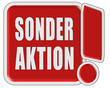 !-Schild rot quad SONDERAKTION