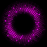 Purple lights - vector background