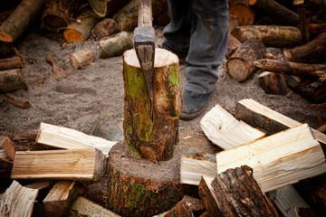 primopiano taglia legna