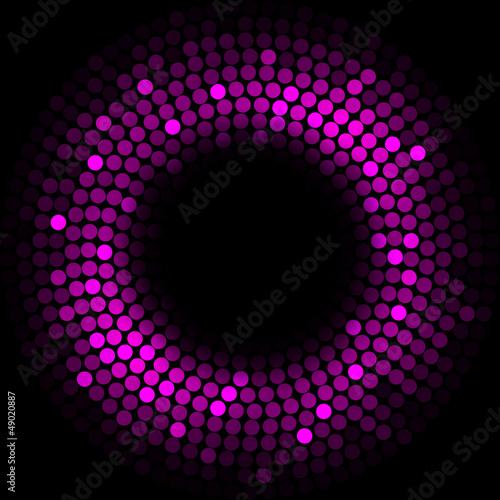 Purple lights - vector background