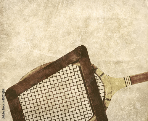 racquet in frame