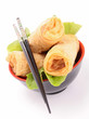 isolated spring roll