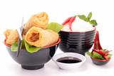Fototapete Rolle - Essen - Vorspeise / Salat
