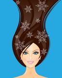 Fototapeta kobiece - Fryzjer - Salon fryzjerski