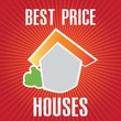 house sale vector