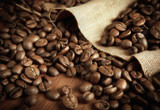 Fotoroleta roasted coffee beans