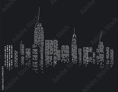 New York bei Nacht © scusi