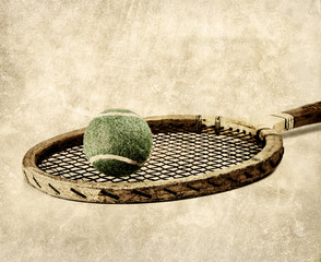 old time tennis