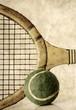 retro style tennis