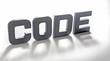code in light and shade
