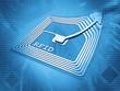 Leinwandbild Motiv rfid chip