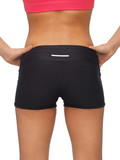 woman's sporty buttocks
