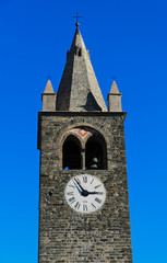 Campanile della chiesa di Sant'Eusebio - Quart - Aosta