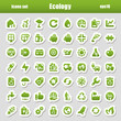ecology green stickers