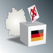 Bundestagswahl Wahlurne wählen Deutschland