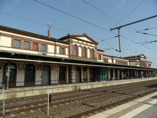 Leinwanddruck Bild Hauptbahnhof Düren