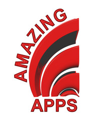Amazing Apps Sign in red