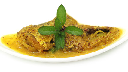 Mustard Ilish: A very popular Bengali cusine