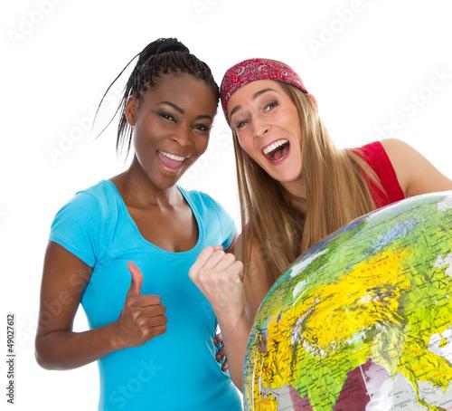 Die beste Freundin vom anderen Kontinent