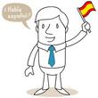 Geschäftsmann, spanisch, Habla espanol