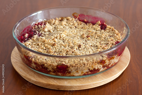 Raspberry Crumble