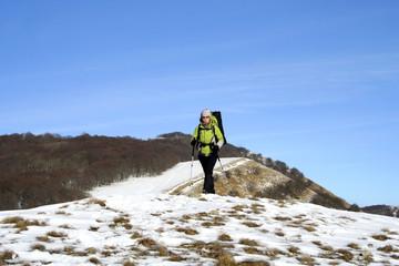 Winter hike.