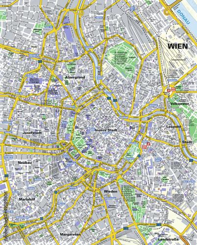 Citymap Wien
